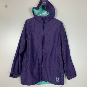 Under Armour MTN Jacket M Medium Mens Purple